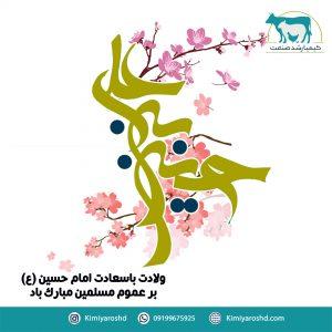 ولادت با سعادت امام حسین بر عموم مسلمین مبارک باد